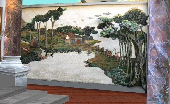 Nội, ngoại thất: đắp tranh phù điêu xi măng đẹp Dap-tranh-tuong-tai-ha-noi-4