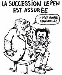 Sarkozy, Machiavel, et la stratégie politique Successionlepen