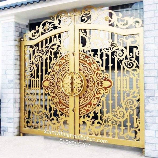 Giới thiệu về cửa cổng sắt nghệ thuật Cua-cong-sat-nghe-thuat-307
