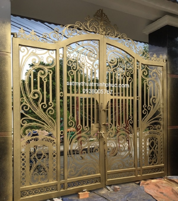 Giới thiệu về cửa cổng sắt nghệ thuật Cua-cong-sat-nghe-thuat-340