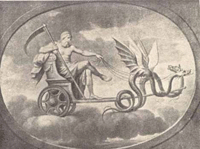The Occult History of the Saturn Death Cult  Saturn-chariot