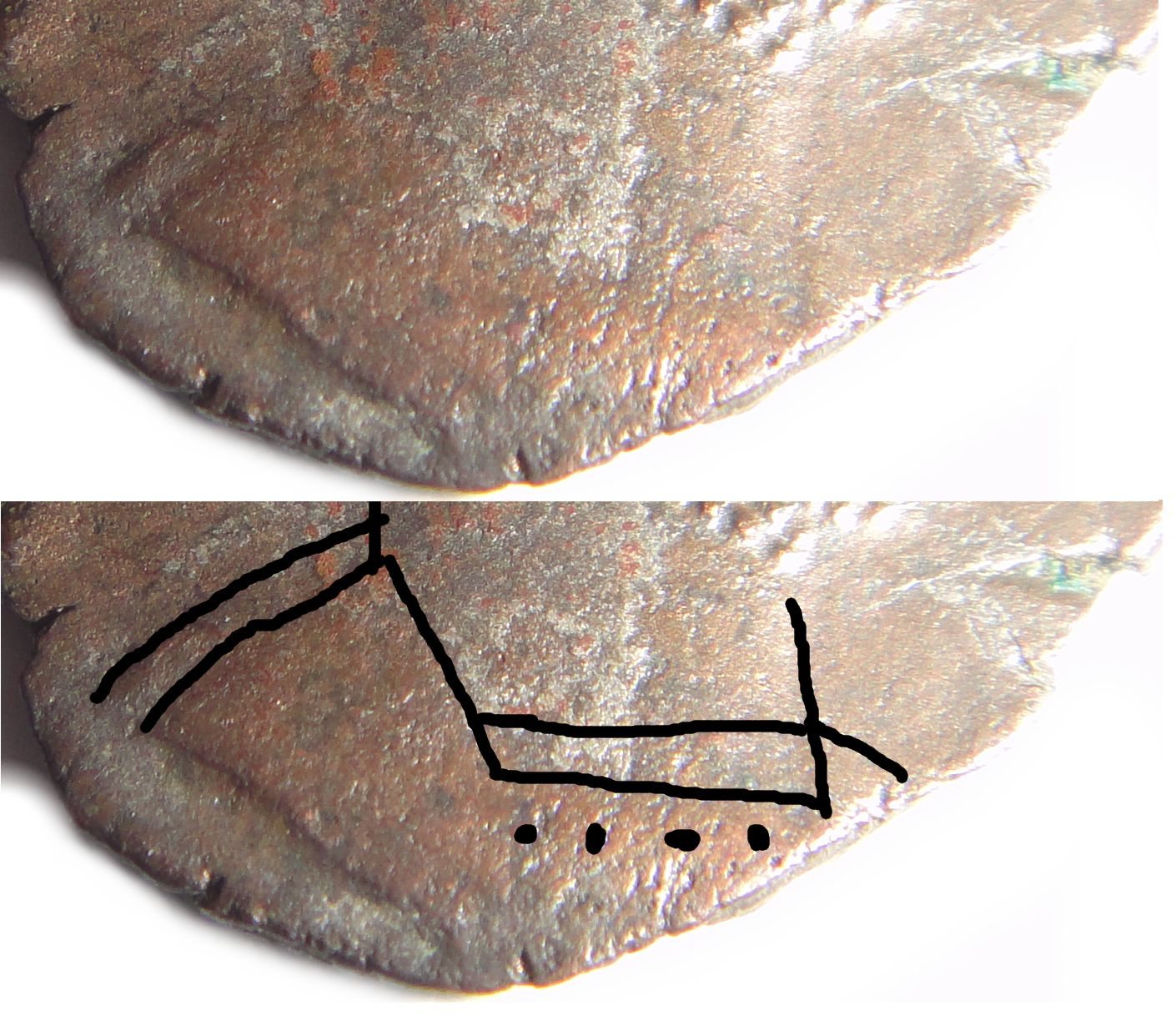 antoninien de Gallien pour Rome CUIRASSE-BUSTE-GALLIEN