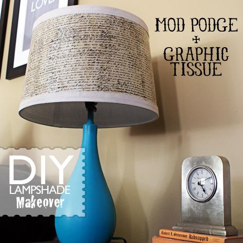 Идеи из интернета LampShadeScriptModPodge
