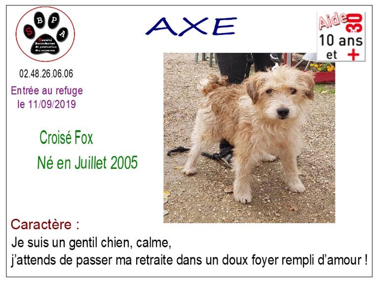 AXEe - x fox 14 ans - SBPA à Marmagne (18) Axe
