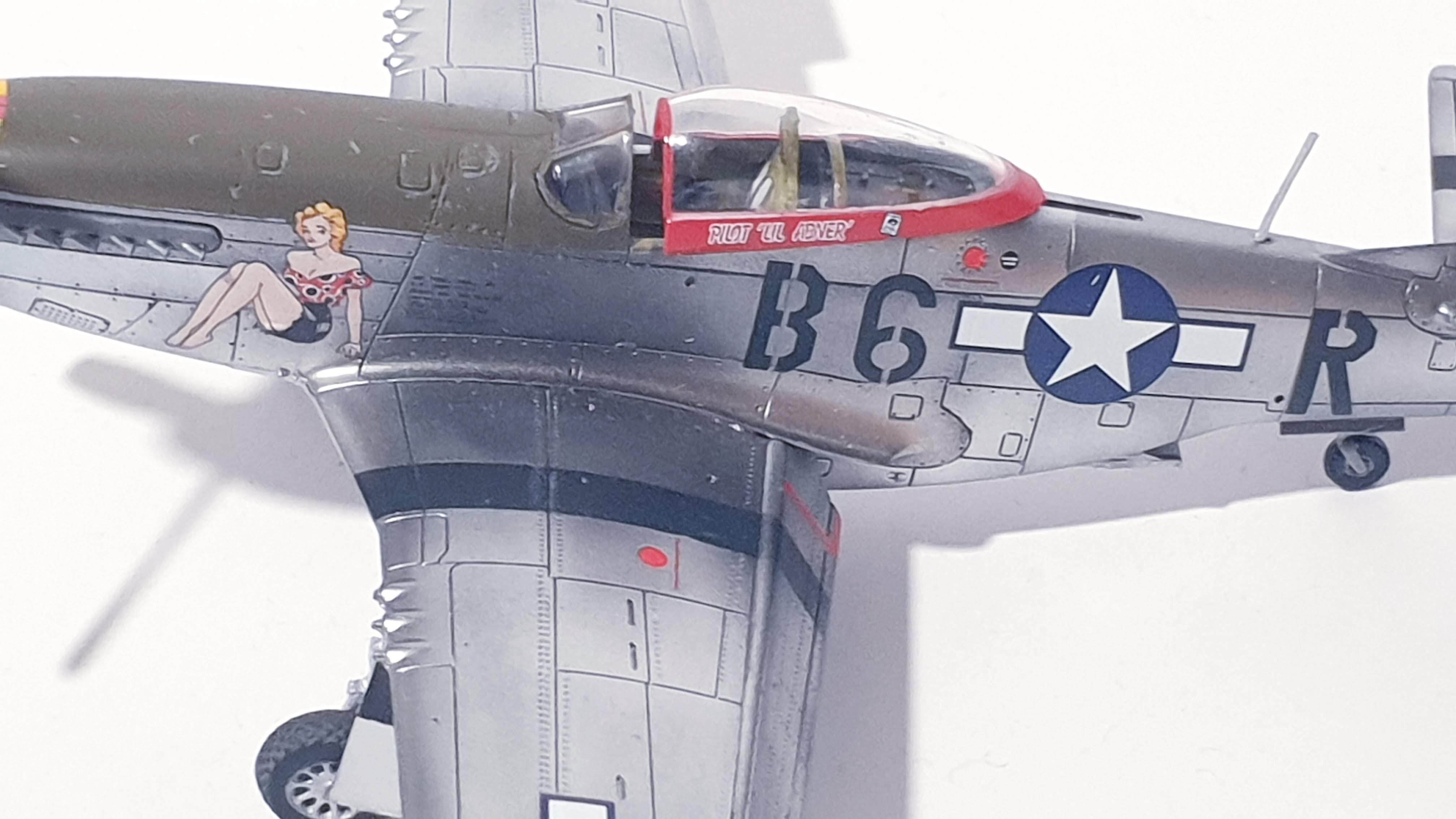[Airfix] P-51D Mustang Daisy Mae 20201018_191517
