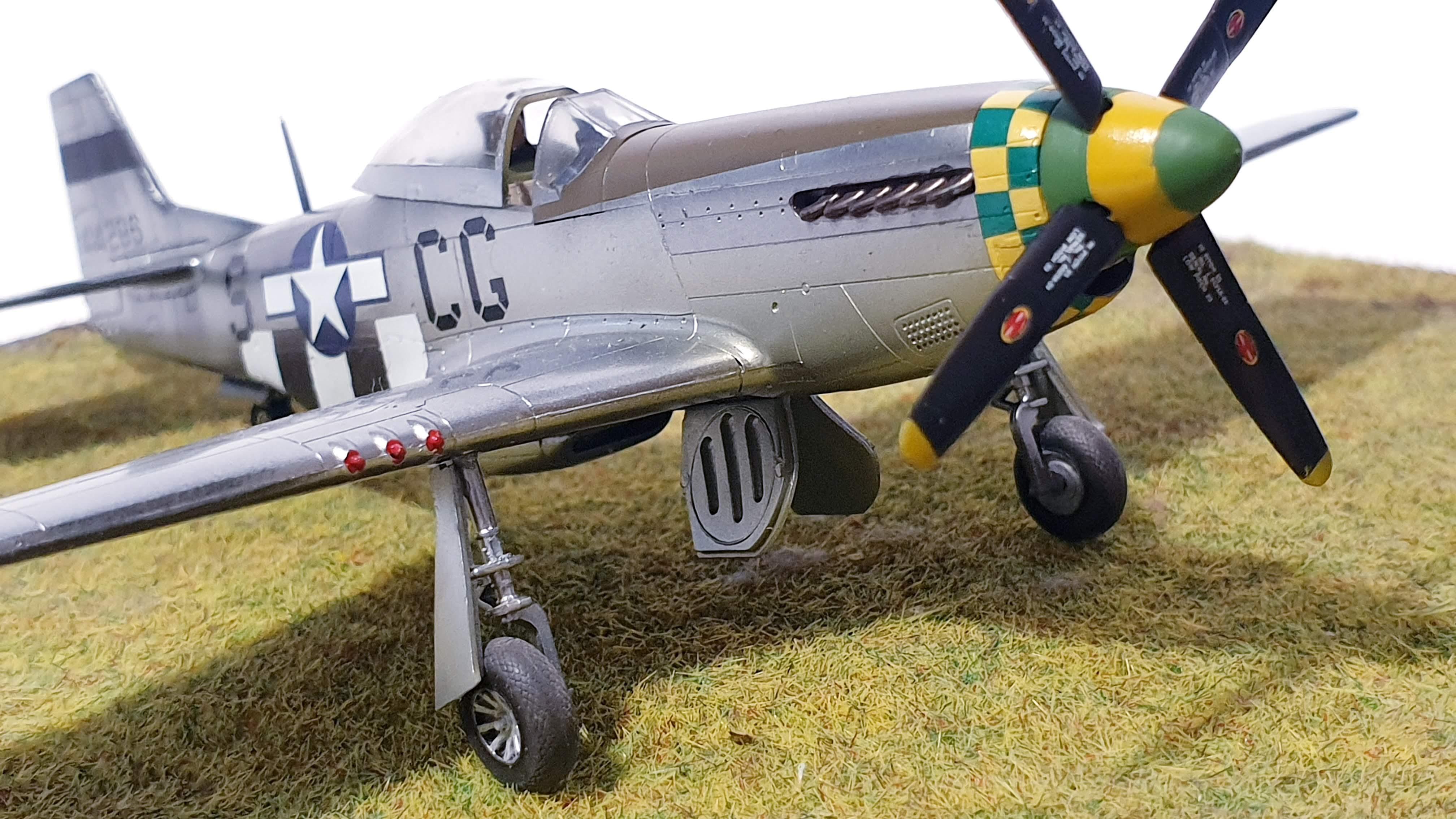 [Airfix] P-51D Mustang Tennessee Belle 20200918_155928