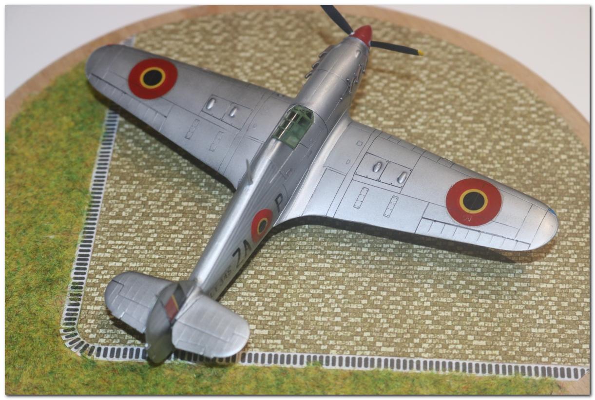 [Revell] Hawker Hurricane Mk II - Belgian Air Force IMG_3220r