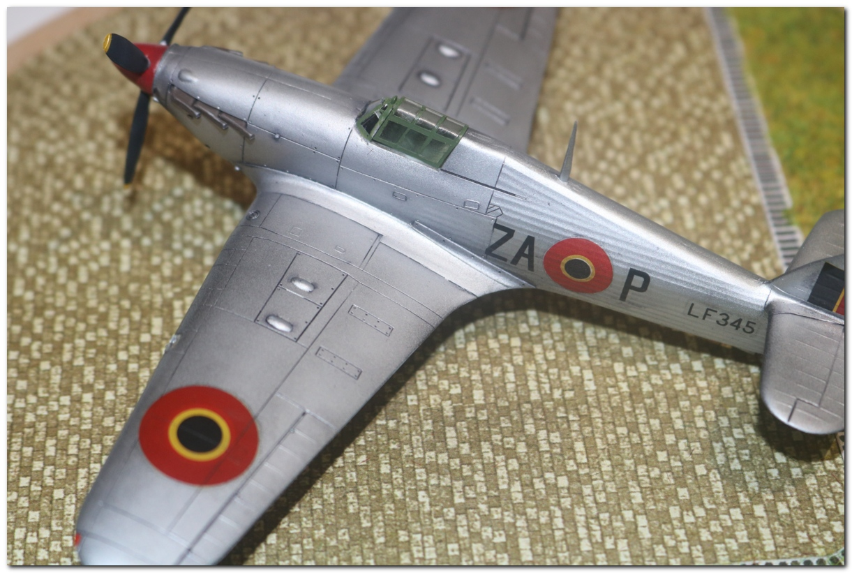 [Revell] Hawker Hurricane Mk II - Belgian Air Force IMG_3222r