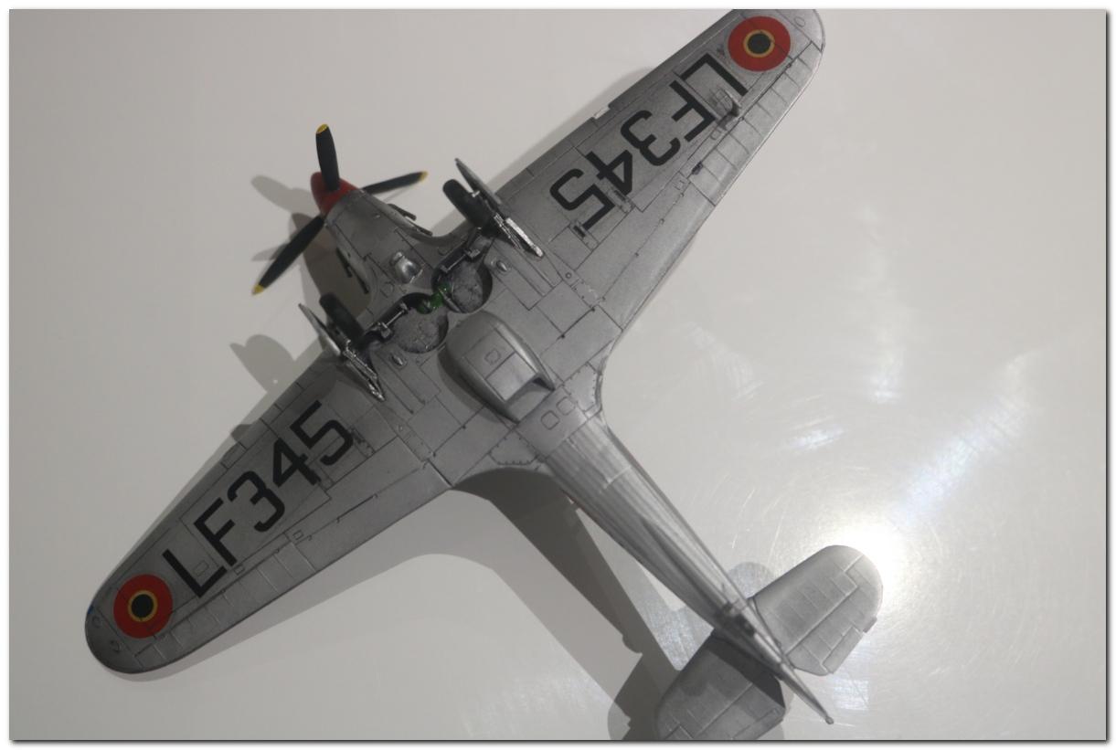 [Revell] Hawker Hurricane Mk II - Belgian Air Force IMG_3228r