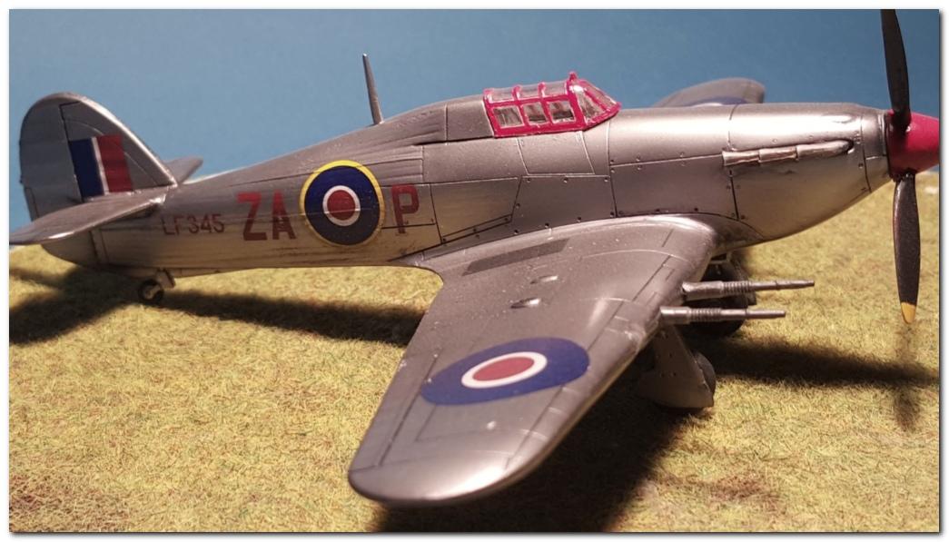[AZ Models] Hawker Hurricane Mk IIc  20151115_164651s