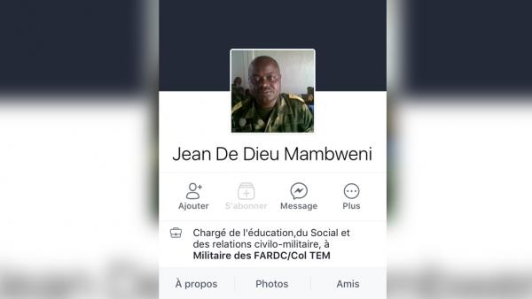 L'EXECUTION DE DEUX AGENTS DE L'ONU PAR LES KASSAIENS - Page 3 Mambweni-photo-profil-facebook_0