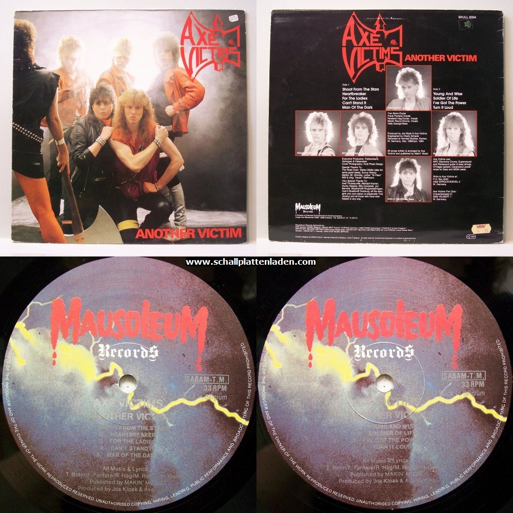 AXE VICTIMS Another Victim (1984) Heavy Metal Allemagne 0001_122