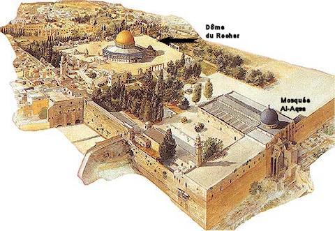 Le troisième temple à Jérusalem... Alaqsamosquee