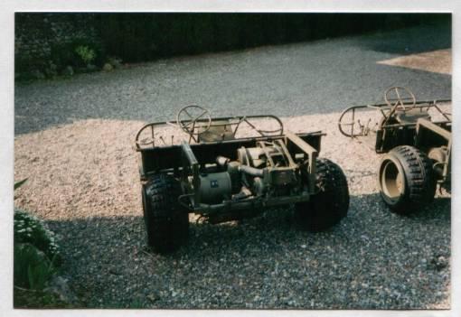 Fardier tricycle Herstal AS 24 4