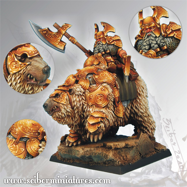 Scibor's Monstrous Miniatures Dwarf_general_on_war_bear_p_01