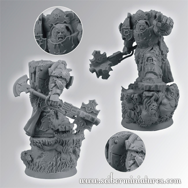 Scibor's Monstrous Miniatures - Page 2 Chaos_master_03