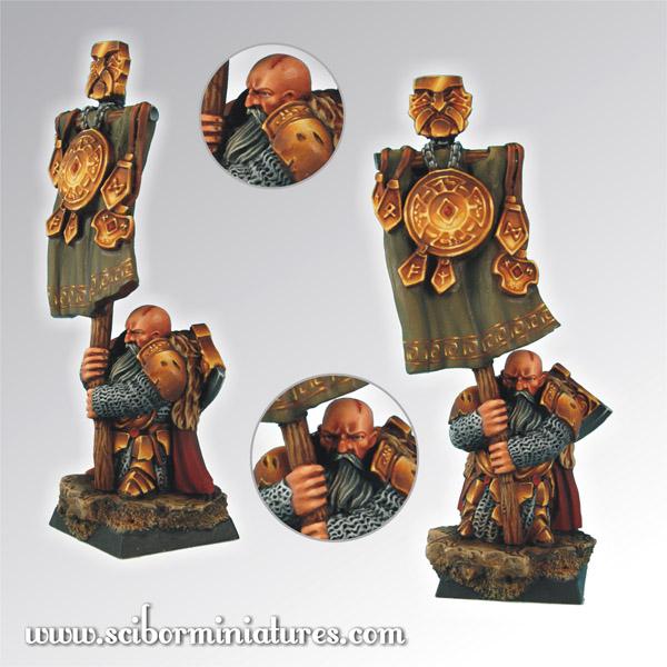 Scibor's Monstrous Miniatures Dwarf_standard_01