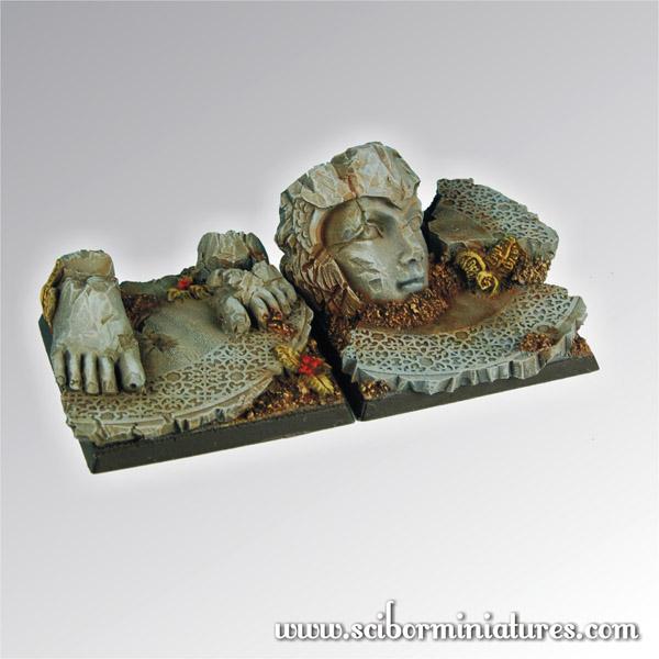 Scibor's Monstrous Miniatures Elven_ruins_40mm_set1_01