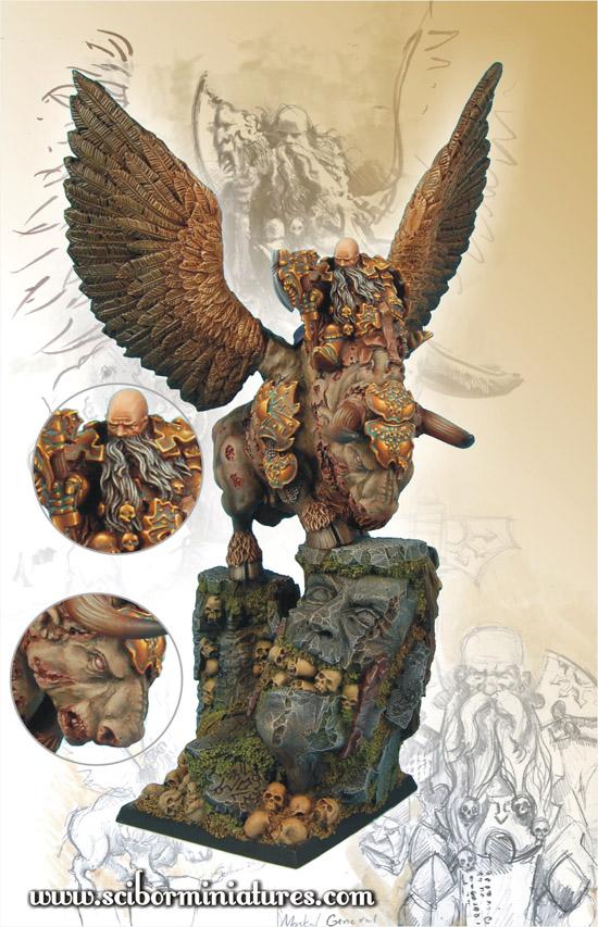 Scibor's Monstrous Miniatures War_bull_painted_02