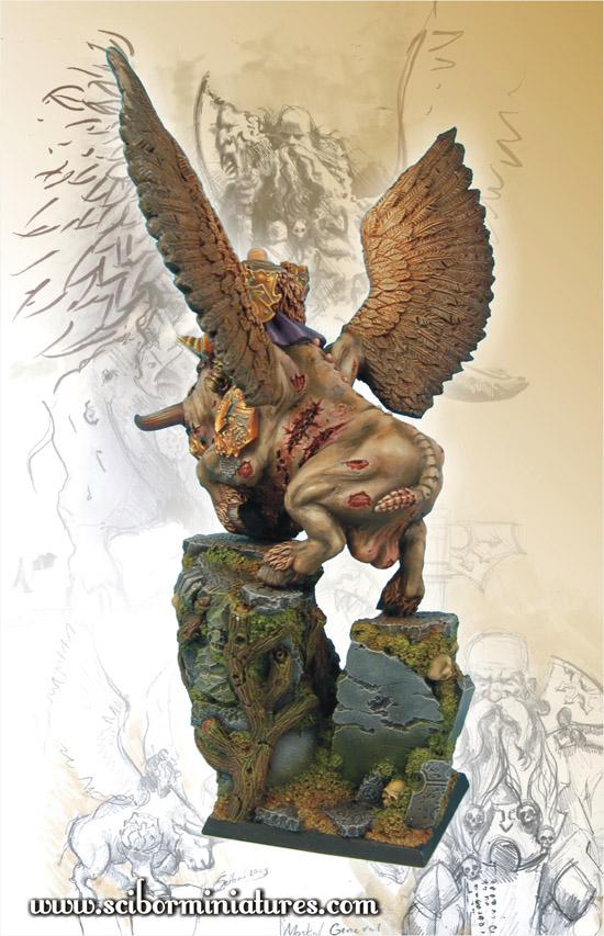 Scibor's Monstrous Miniatures War_bull_painted_06