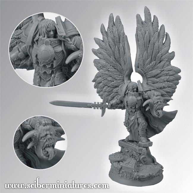 Scibor's Monstrous Miniatures - Page 2 Archangel_01