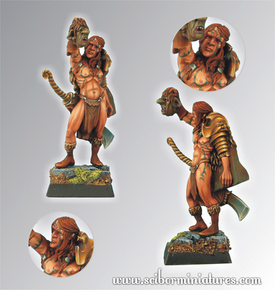 Scibor's Monstrous Miniatures Elf_hunter_02