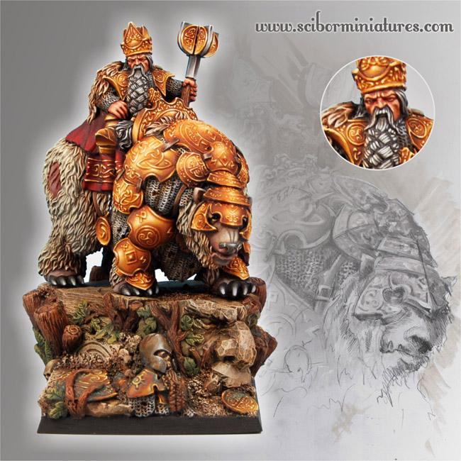 """Saga of Dumin """"Goblin splitter"""" Stromnisson Dwar_king_01"""