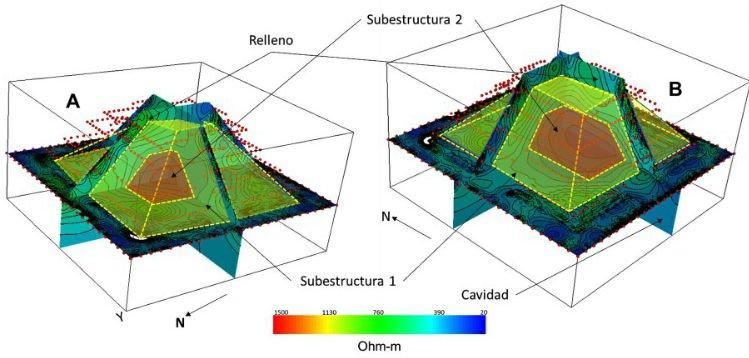 Une pyramide retrouvée cachée à l'intérieur de l'une des pyramides les plus emblématiques du monde Internal-pyr