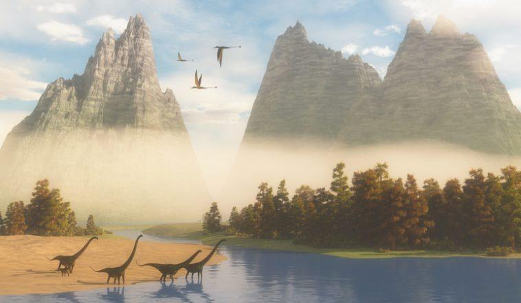 Dans ce parc américain, on explique qu'humains et dinosaures se côtoyaient… IStock-529998558-758x442