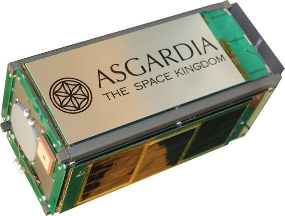 Lancement du premier satellite d'Asgardia, la première « nation de l'espace » SatAsgar