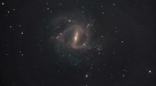 المجرة اللولبية المسطرة  -  NGC 1073 Ngc-1073-galaxy
