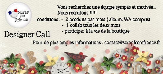 Scrap From France Designer call !!! Designer_call_FR