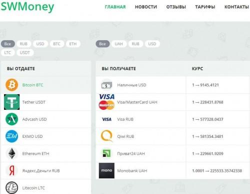 Swmoney.net - Сервис обмена электронных валют Screenshot_48bcda9e75d462de5.md