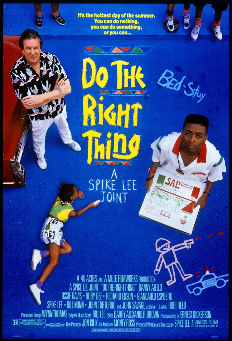 Spike lee (Heroe o villano) - Página 2 Do-the-Right-Thing-1989-movie-poster
