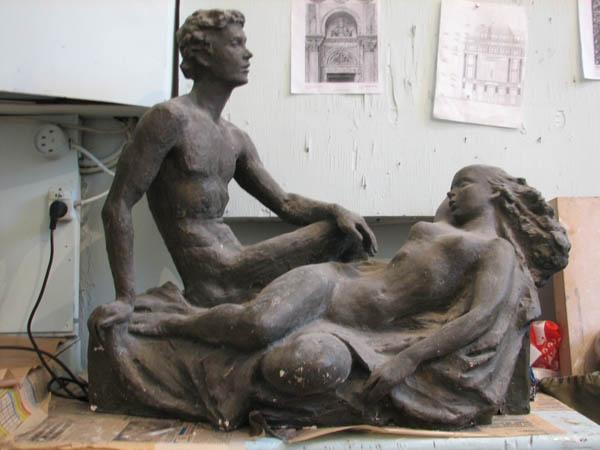 Скульптуры, памятники и монументы - Страница 2 Love