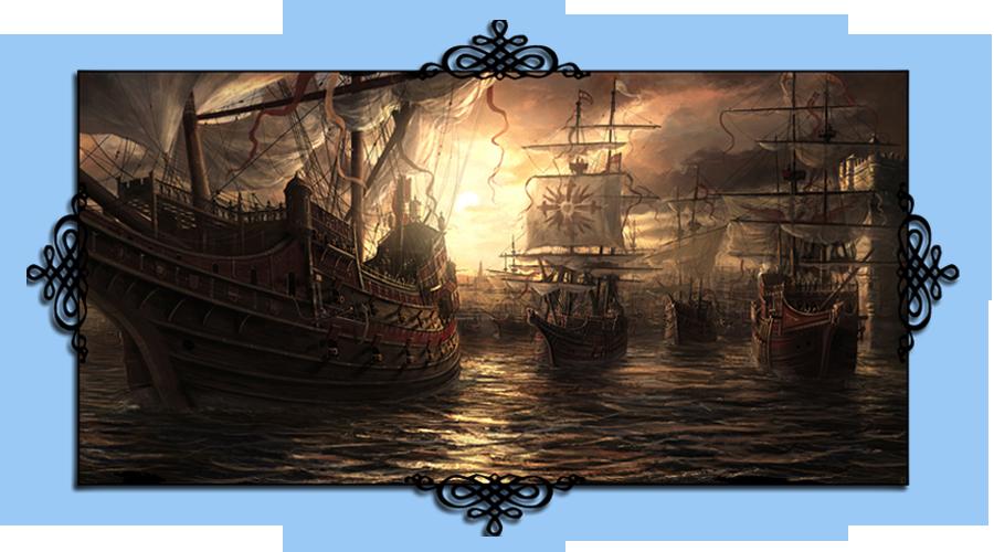 Les Vadrouilleurs, Guilde marchande des Royaumes, Flotte commerciale