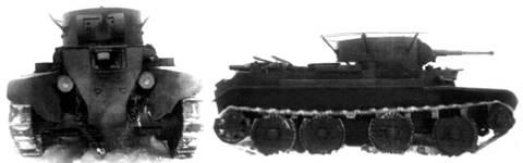 БТ-7 - лёгкий колесно-гусеничный танк Xs7QW