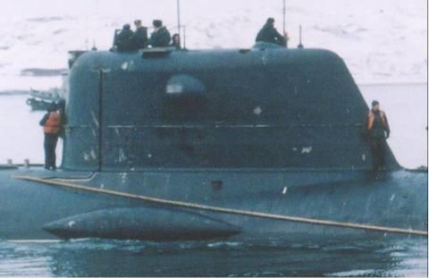 Проект 1910 «Яуза» («Кашалот») - атомная глубоководная станция SudzM
