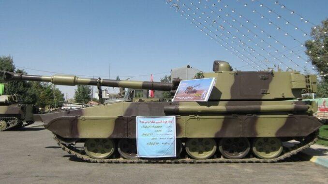 إيران تزود جيشها بمدافع هجينة روسية أميركية 5ebe66494c59b775fd0f9fcd-678x381