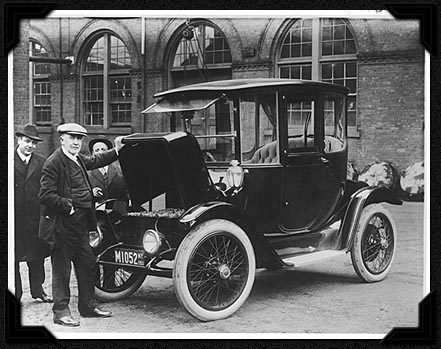 История электромобилестроения Edisson