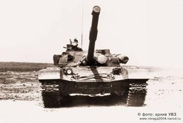 «Объект 172-2М» - опытный основной боевой танк (ОКР «Буйвол»)  N4L7D