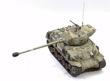 M51 Super Sherman. Tamiya 1/35 WbLv1