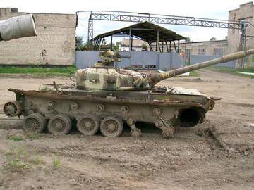 «Объект 219А» - основной боевой танк (опытный) NC0lR
