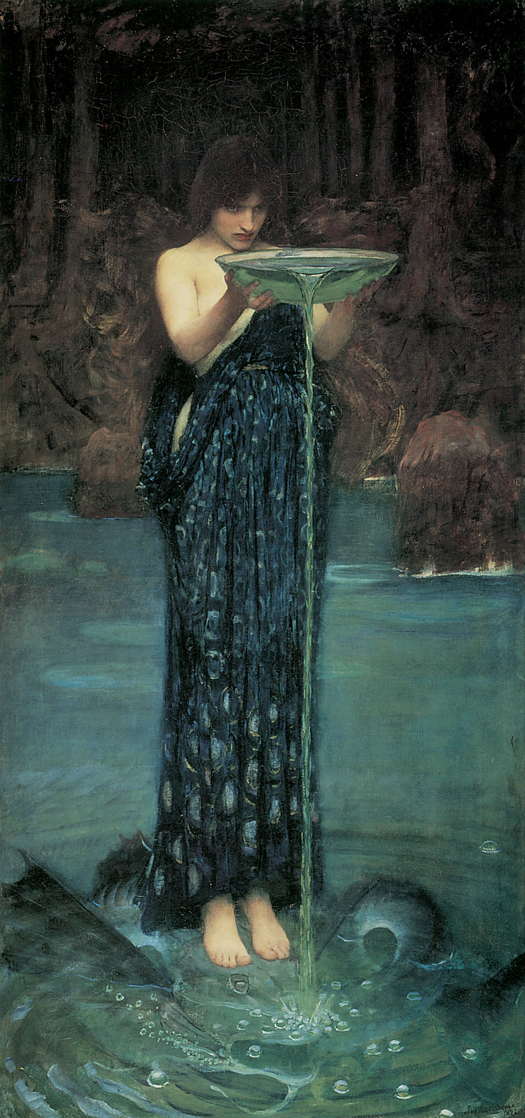 My World Circe-invidiosa-waterhouse-1892