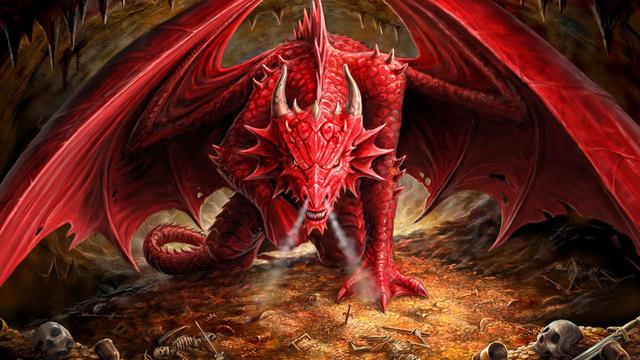 Guia Criaturas Magicas Dragao-vermelho