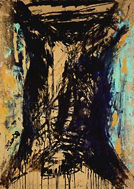Boeufs écorchés (crucifixions détournées) Olivier-saudan-boeuf-ecorche-1995