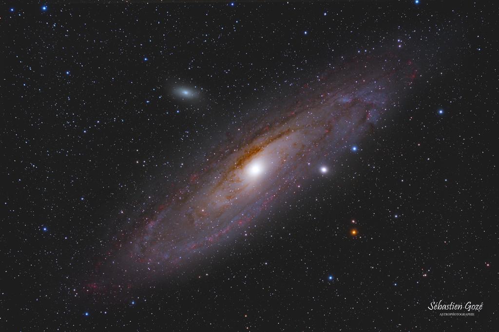 M31 -La galaxie d'Andromède en HaRVB M31_HaRVB_finale_forum