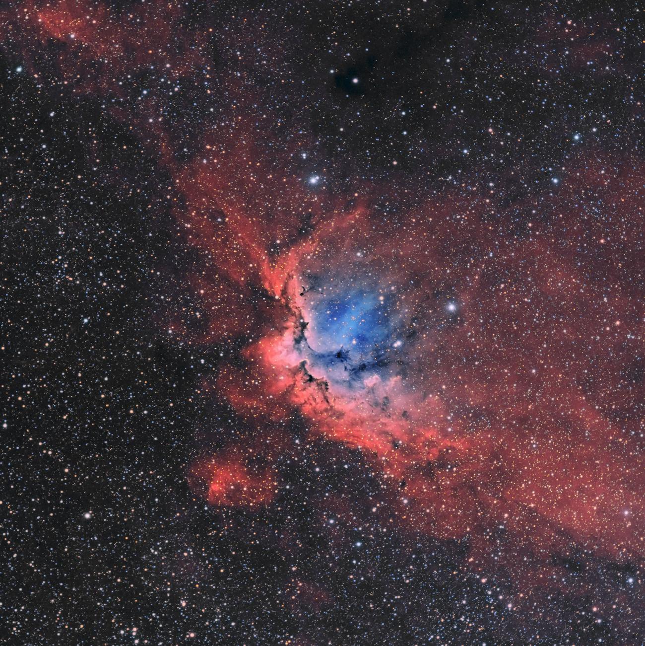 NGC 7380 - La nébuleuse du sorcier en HaOO Sorcier_HaOOV2_finale_reduit