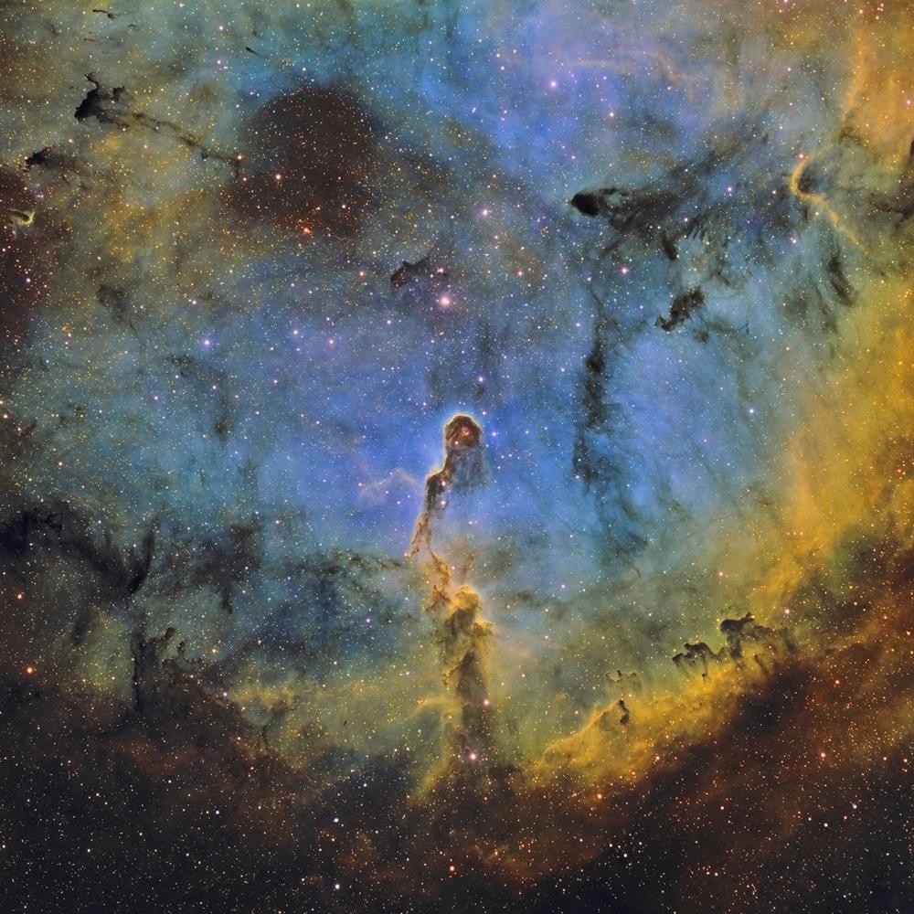 IC 1396 - La nébuleuse de la trompe d'éléphant en SHO Trompe_SHO_finale_astronam