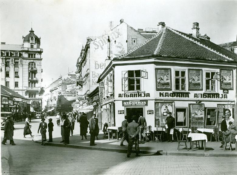 Slike starog Beograda - Page 3 Albanija-kafana